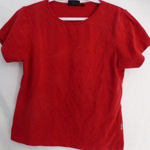CHAMPION, large, plain red tee